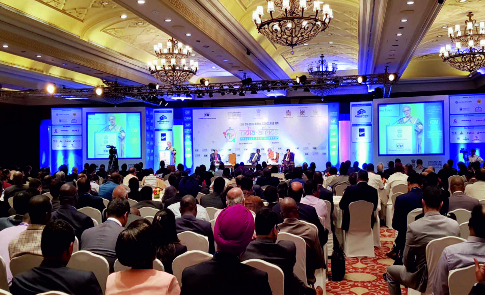 13th CII-EXIM BANK CONCLAVE , MARCH 2018